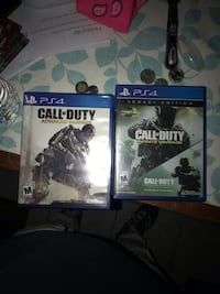 2 COD games for Ps4 El Paso, 79912