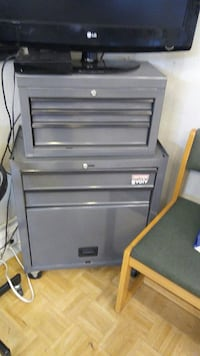 two gray metal tool cabinets Harrisburg