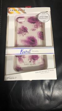 white and pink floral print box Brownsville, 78520