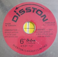 ▶️ Brand New Disston DeLuxe Circular Saw Blade