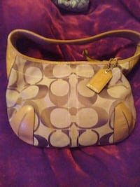 women's brown Coach hobo bag Augusta, 30909