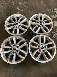 Mags 17 pouces 5x120 MINI COOPER - HONDA ODYSSEY Laval