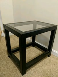square black wooden side table Centreville, 20120