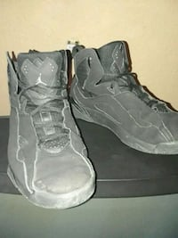pair of gray Air Jordan basketball shoes Stockton, 95207