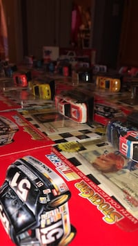 1995 and 96 and more unopened nascar die cast with cards Toney, 35773