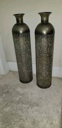 Metal Silver Vases Coppell, 75019