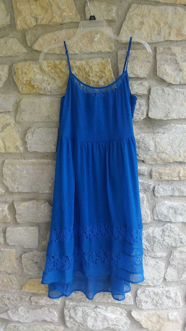 39a9b6c5f04 Used blue spaghetti strap skirt dress for sale in Indianapolis - letgo