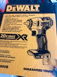 3/8 compact impact wrench new tool only