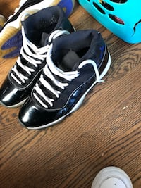 Space James with white retro 11 shoe strings  Omaha, 68134