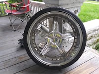 """Who need some Rims?? Nice Forte 22"""" Rims"""