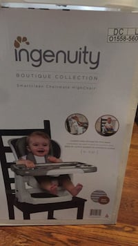 ingenuity Boutique Collection Smartclean Chairmate High Chair! Stone Mountain, 30087