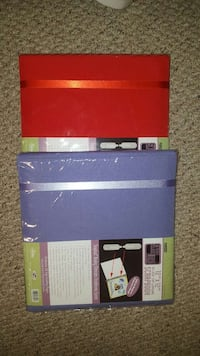 New scrapbooks