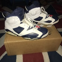Jordan 6 retro Olympic 2012 used  Germantown, 20874