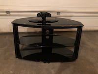 black glass-top TV stand Chestermere, T1X 1J2