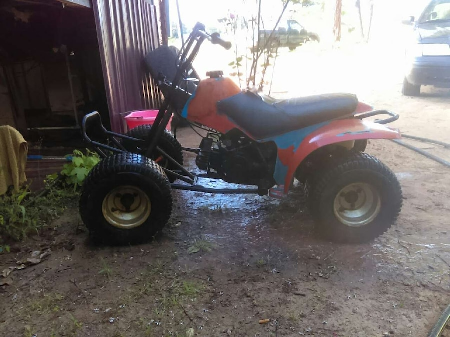 Used orange 110cc yamaha four wheeler in tyler for Yamaha tyler tx