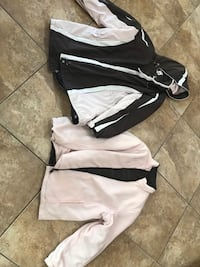 Ladies winter pink and brown 2XL two in one jacket $15 Las Vegas, 89135