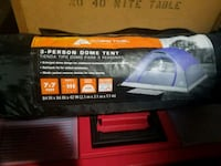 3 person camping tent Oneida