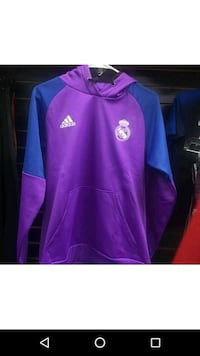 purple and pink Adidas pullover hoodie 372 mi