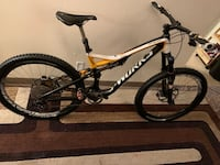 Specialized S-Works Stumpjumper carbon mountain bike