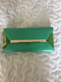 Green  leather wallet for women  Ottawa, K2B