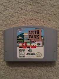 N64 Nintendo 64 South Park Bowie, 20720