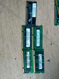 5 times 2 GB DDR 2 laptop Ram