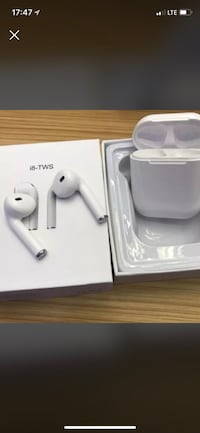 White earpods with box Montréal, H8Z 2X3