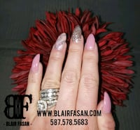 Nails - Gel extentions with Shellac/Gel Polish Calgary