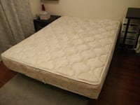 Queen size dual side pillow top mattress Oakville, L6M 3G1