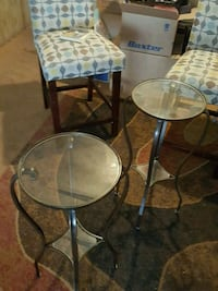 Two glass top end tables Fillmore, 93015