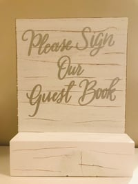 David Tutera Guestbook Sign Burnaby, V5H 0B2
