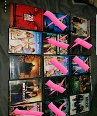 Diffrent variety of dvds Buckley, 49620