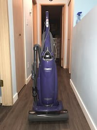 purple and black upright vacuum cleaner Vancouver, V5S 4R7