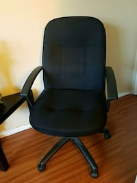 black office rolling armchair - Good condition Los Angeles, 91316