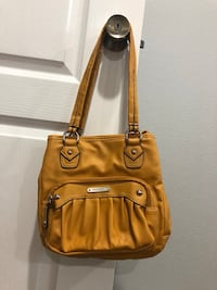 brown leather 2-way handbag Buena Park, 90621