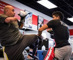 Kickboxing and MMA lessons