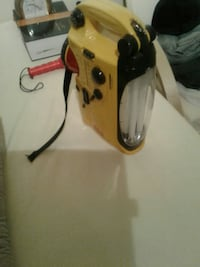 yellow and black rechargeable flashlight Calgary, T2A 3K8