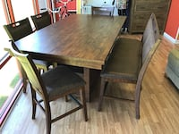 New 6pc Asheville Solid Wood Dining Set  Virginia Beach, 23462