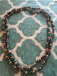 """60"""" long Honora cultured pearl necklace. Beautiful colors. Brand new Leesburg, 20176"""