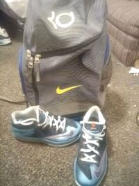 Size 11 LeBrons and KD Nike backpack Norman, 73072