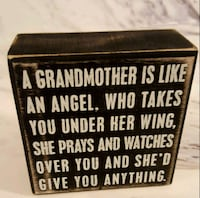 Grandmother canvas sign  Barrie