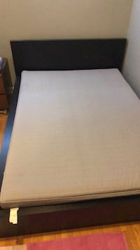 IKEA double/full bed frame and mattress Toronto, M2K 1J5