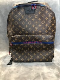 brown Louis Vuitton leather backpack Fresno, 93702
