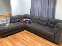 Big comfortable couch, got to go ASAP! Boston