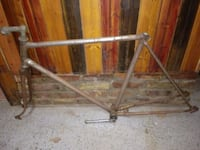 "1970's Vintage Steel 26"" Bicycle Frame"