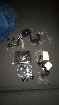 Black Waterproof and shockproof action camera Toronto, M5B 2A9