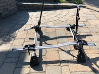 BMW 5 series roof rack and bike carrier for 2 bike Montréal