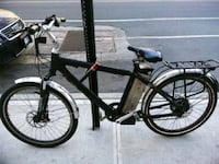 black and gray hardtail bike Electric  New York, 10002