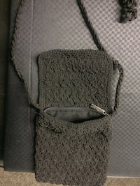 gray and white leather crossbody bag Merced, 95341