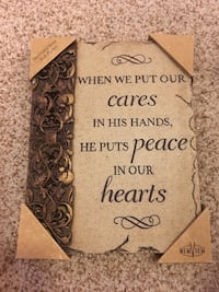 brown and black wooden quote board Centennial, 80122